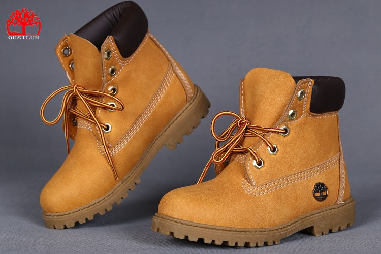 chaussures imitation timberland enfant